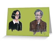 Enid And Seymour Greeting Card