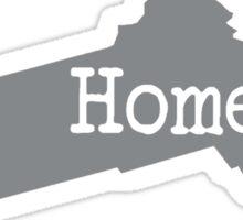Massachusetts Home Pride MA Boston Sticker