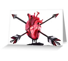 Arrow Heart Greeting Card