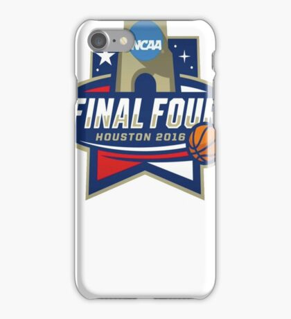 NCAA Men's Basketball March Madness Final Four Houston 2016 iPhone Case/Skin
