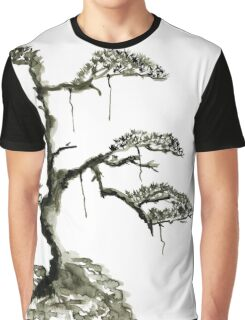Chinese pine, a symbol of longevity Graphic T-Shirt