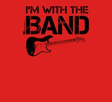 I'm With The Band - Electric Guitar (Black Lettering) Unisex T-Shirt