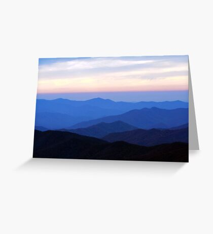 Great Smoky Mountains Greeting Card