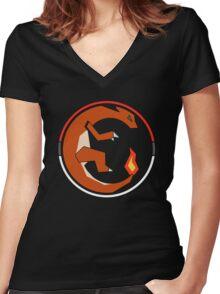Charmeleon - #005 - MH Women's Fitted V-Neck T-Shirt