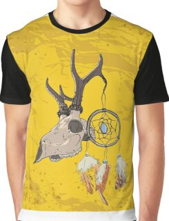 Animal Skull with dreamcatcher  Graphic T-Shirt
