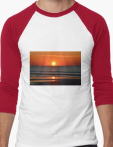 Seabrook Island Sunrise, South Carolina Men's Baseball ¾ T-Shirt