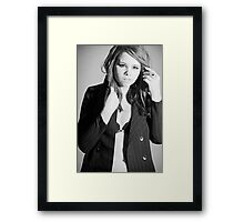 Time for Business Framed Print