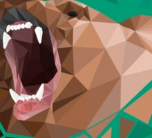 Low Poly Bear- FOCUS Mag Cover Sticker