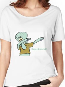 Squidward! Dab Women's Relaxed Fit T-Shirt