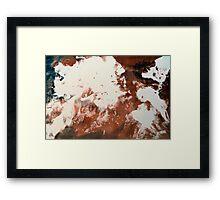 Chai Submersion Framed Print