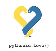Pythonic Love Photographic Print