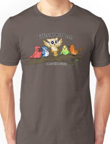 Actually Autistic Owl - Different not Less Unisex T-Shirt
