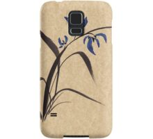 'Morning Orchids'  Sumi-e ink wash painting Samsung Galaxy Case/Skin