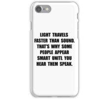 Light Smart iPhone Case/Skin