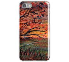 Sunset panorama iPhone Case/Skin