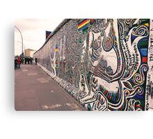 East Side Gallery Wall Canvas Print