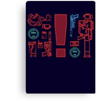 Metal Gear Solid Inventory, Ver. A-1 Canvas Print
