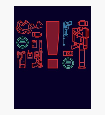 Metal Gear Solid Inventory, Ver. A-1 Photographic Print