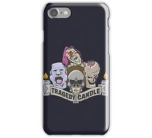 Nerdy Tee - Tragedy Candle iPhone Case/Skin
