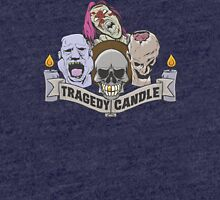 Nerdy Tee - Tragedy Candle Tri-blend T-Shirt