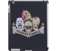 Nerdy Tee - Tragedy Candle iPad Case/Skin