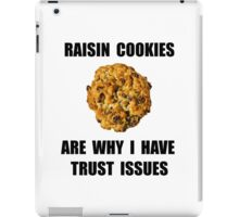 Raisin Cookie iPad Case/Skin
