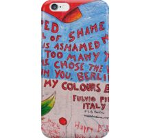 East Side Gallery - Freedom is ashamed no more iPhone Case/Skin