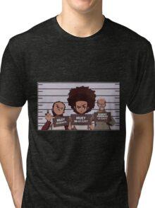 Riley, Huey and Robert Tri-blend T-Shirt