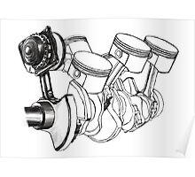 Engine Poster
