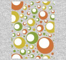 Retro 60s Pattern Baby Tee
