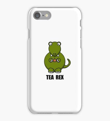 Tea Rex Dinosaur iPhone Case/Skin