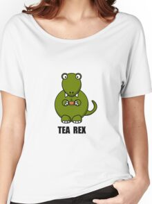 Tea Rex Dinosaur Women's Relaxed Fit T-Shirt