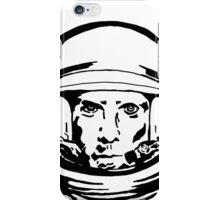 Ben Stiller Astronaut Black and White Portrait JTownsend iPhone Case/Skin