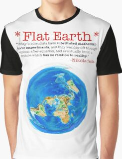 Flat Earth Tee Shirts & More! Graphic T-Shirt