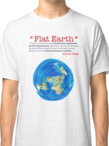 Flat Earth Tee Shirts & More! Classic T-Shirt