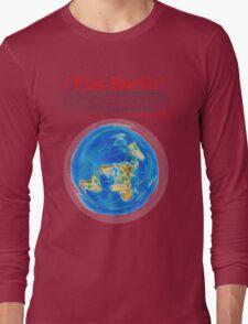 Flat Earth Tee Shirts & More! Long Sleeve T-Shirt
