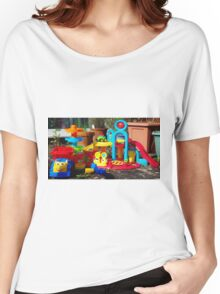 Just Add Child for Instant Play Women's Relaxed Fit T-Shirt