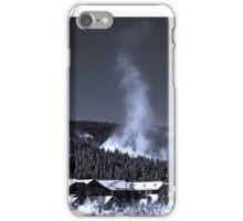 Snow Clouds - Mountain Ski Town iPhone Case/Skin