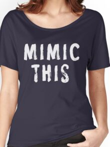 MIMIC THIS - Kimmel (Screen Accurate) Edge of Tomorrow Women's Relaxed Fit T-Shirt