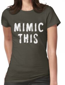 MIMIC THIS - Kimmel (Screen Accurate) Edge of Tomorrow Womens Fitted T-Shirt