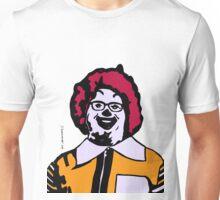 Realistic Ronald McDonald Clown JTownsend Unisex T-Shirt