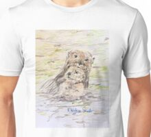 Otter and Baby Unisex T-Shirt