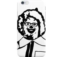 Realistic Ronald McDonald Clown Black and White JTownsend iPhone Case/Skin