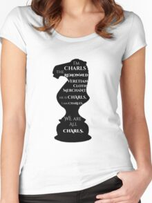 I am Charls Women's Fitted Scoop T-Shirt