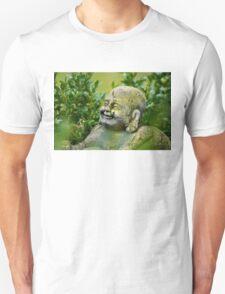 Buddah im Garten Unisex T-Shirt