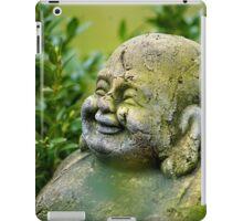 Buddah im Garten iPad Case/Skin