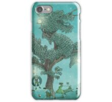 The Night Gardener - Dragon Tree night option iPhone Case/Skin