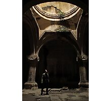 Armenian cave monastery adventure Photographic Print