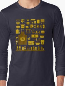 retro kitchenware Long Sleeve T-Shirt