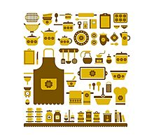 retro kitchenware Photographic Print